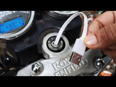 Emergency Mobile Phone Charger using Motorcycle or Car