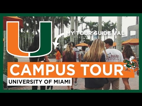 University of Miami Campus Tour | Coral Gables, FL // Travel Vlogs