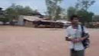 Poipet rough bus trip to Siem Reap - Cambodia