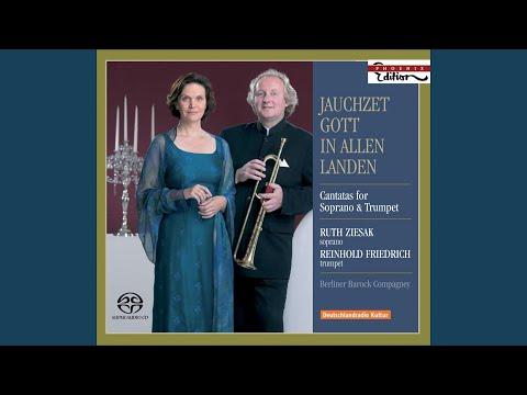 Jauchzet Gott in allen Landen!, BWV 51: Aria: Jauchzet Gott in allen Landen!