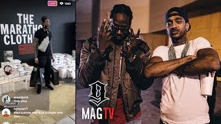 2 Chainz Overwhelmed After Shopping At The Marathon Clothing Store!