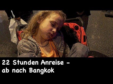 22 Stunden Anreise - ab nach Bangkok | VLOG #1