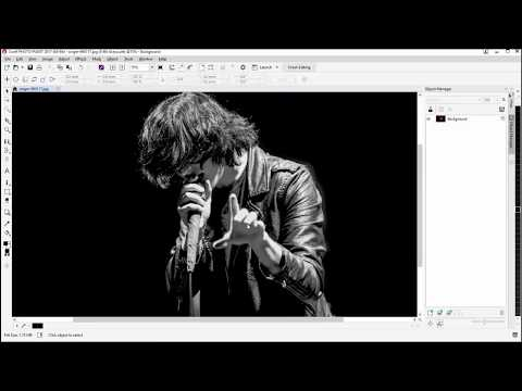 T-shirt design tutorial with a Rock and Roll Look