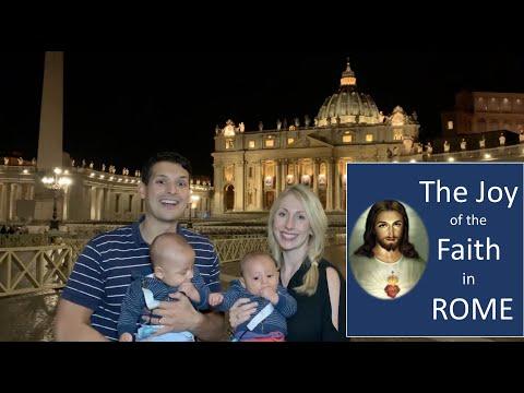 The Joy of the Faith in Rome #universal