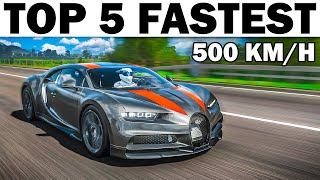 Top 5 Fastest Cars In Forza Horizon 4 (Stock \u0026 Tuned)