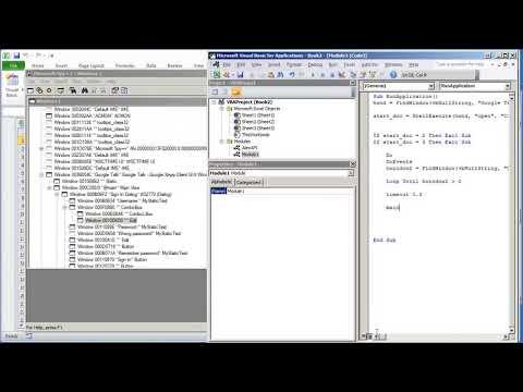 04 VBA Excel Windows API V1 03 Send Text WM SETTEXT to Edit
