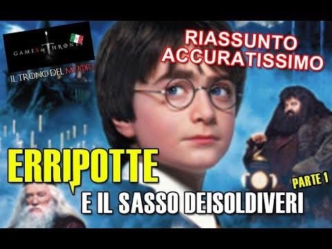 RIASSUNTO ACCURATISSIMO HARRY POTTER 'ERRIPOTTE E IL SASSO DEISOLDIVERI' PT1 SPECIALE NPO'DEISCRITTI