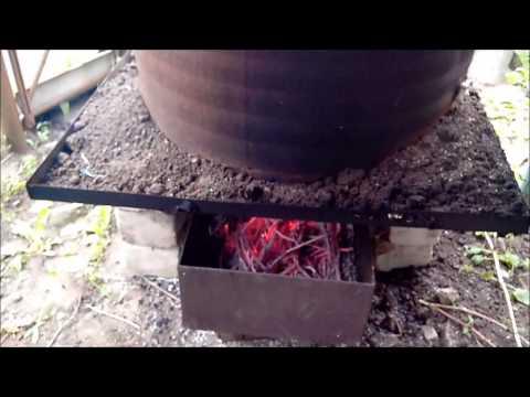 Как из бочки сделать коптильню горячего копчения