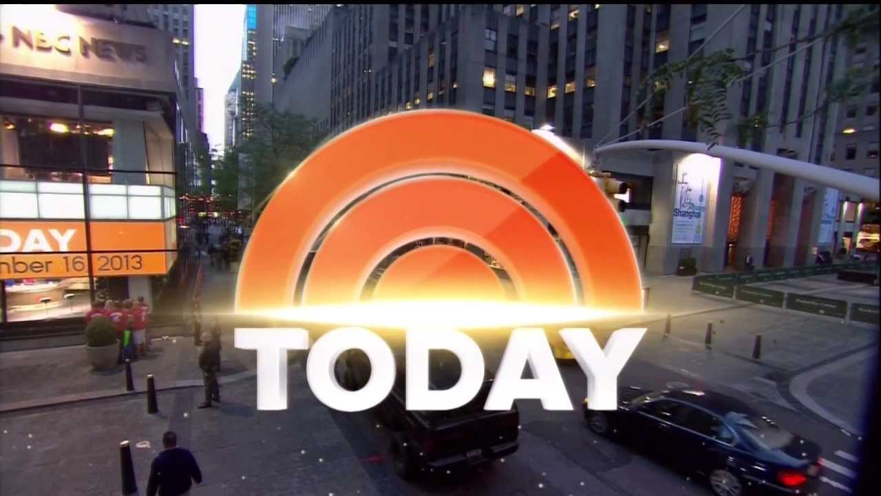 TODAY Show New Set New Graphics New Music Montage LATE