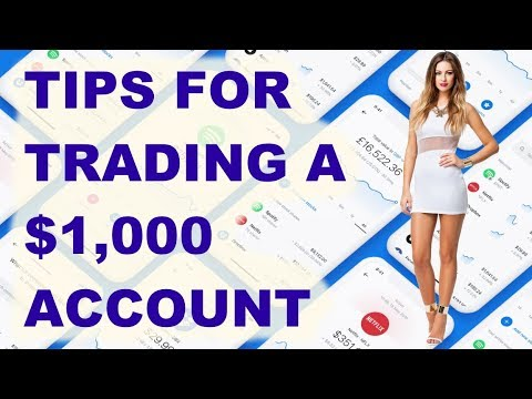 Tips for Trading a $1,000 Account // Growing small account strategies