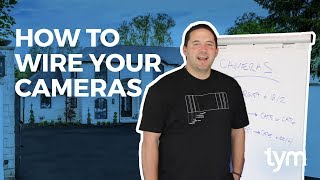 How To Wire Your Surveillance Cameras