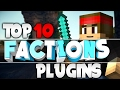 "Minecraft Saturday | Top 10 ""FACTIONS"" Plugins! 