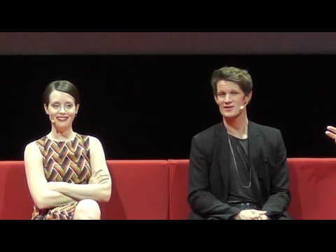 The Crown @ Netflix | full press conference Paris (2016) Matt Smith