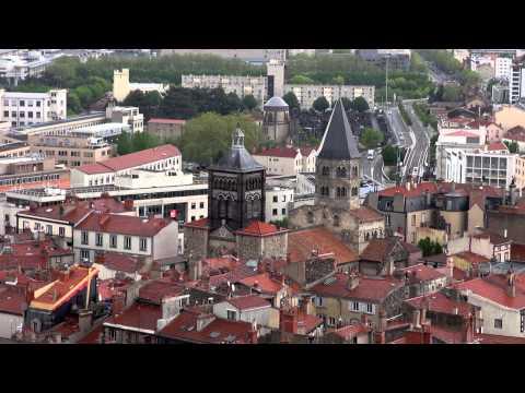 Франция 2013 #01 Клермон-Ферран (прогулка по исторической части города)