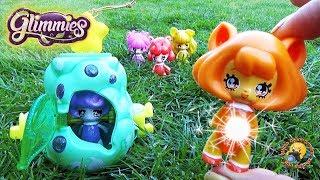 ГЛИММИС светящиеся ФЕИ с домиком! Новинка! Магические Игрушки для девочек GLIMMIES Magical Toys