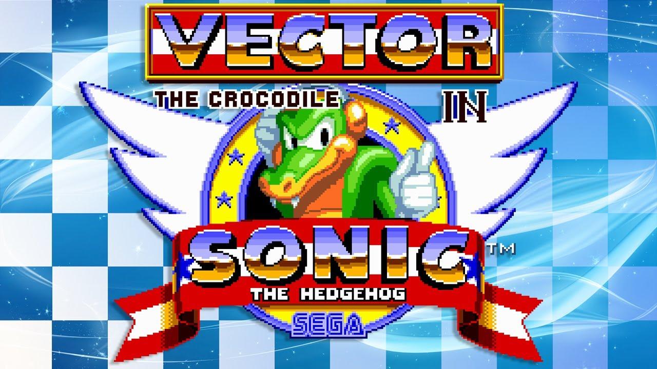 Vector The Crocodile In Sonic The Hedgehog Walkthrough Youtube