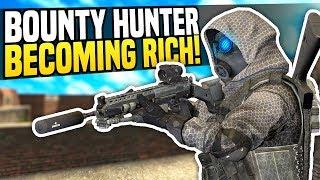 BOUNTY HUNTER BECOMING RICH - Gmod DarkRP   The Best Job!