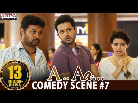 A Aa Scenes || Nithiin Samantha Comedy Scene #7 | Nithiin, Samantha | A Aa (Hindi Dubbed Movie)