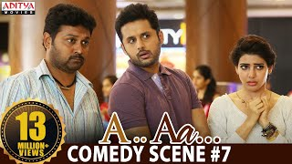 A Aa Scenes || Nithiin Samantha Comedy Scene #7 | Nithiin, Samantha | A Aa (Hindi Dubbed Movie)