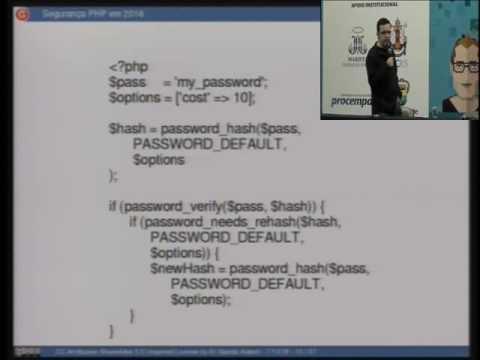 Segurança PHP em 2016