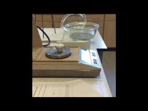 Exp 4: Gravimetric Determination Of Water In Hydrated Barium Chloride
