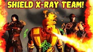 MKX Mobile  Crazy Special 2 Damage Team  Destroying Diamond Teams