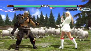 Tekken 6 Gameplay Lili Part 1 (PS3)