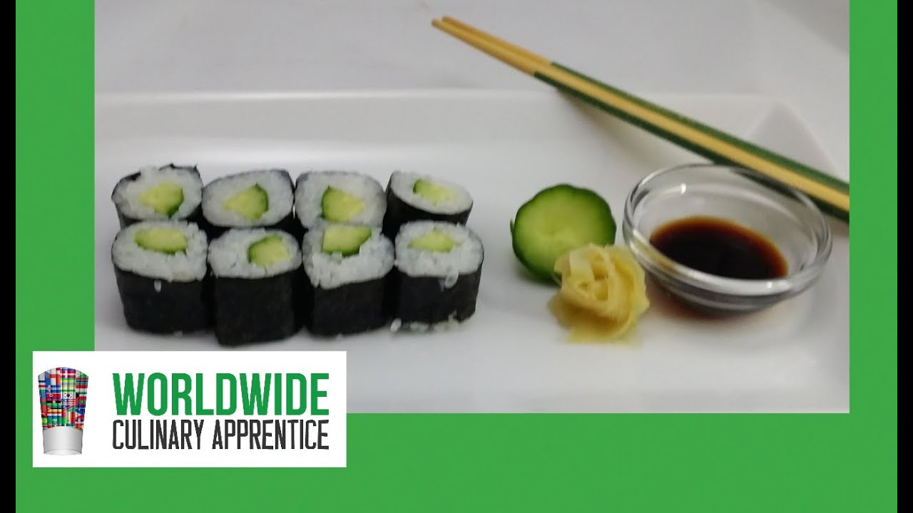 halpa myytävänä erilaisia muotoiluja vähittäishinnat Fundamentals of Japanese Cuisine - Kappa-maki - Cucumber Roll - Hosomaki