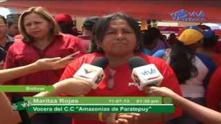Diputados del CLEB sostuvieron encuentro con diversos Consejos Comunales del Municipio Caroní