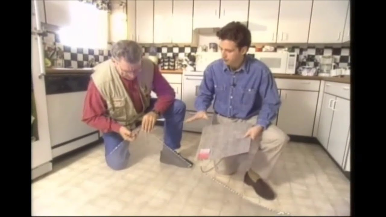How To Install Ceramic Tile Over Vinyl Flooring With In Floor