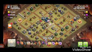 Miner Max 3 Star TH12 5*.Clash Of Clans Base War