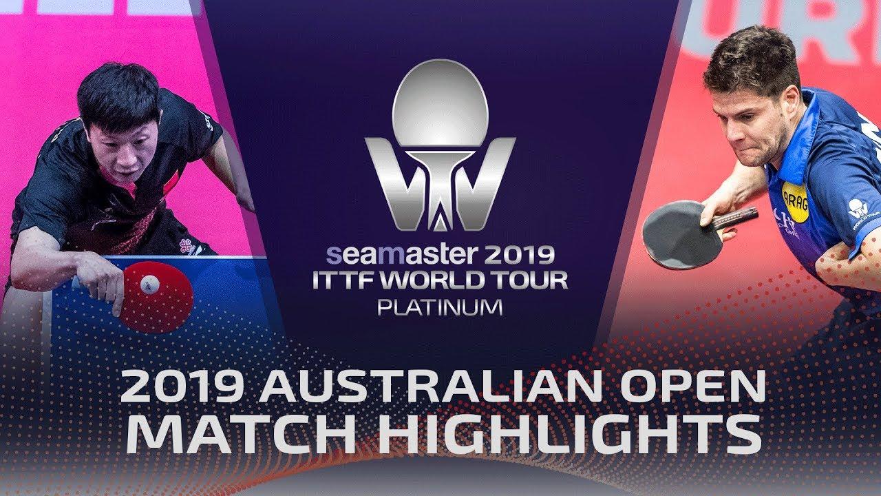 Download Ma Long vs Dimitrij Ovtcharov | 2019 ITTF Australian Open Highlights (R16)