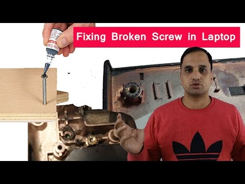 Repairing Grip of Screw: Laptop Hinge Screw Repairing
