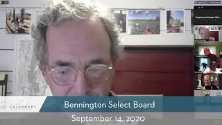 Bennington Select Board // 09/14/20