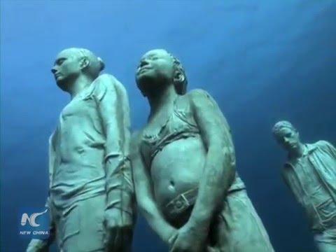 Spain creates Europe's first underwater museum