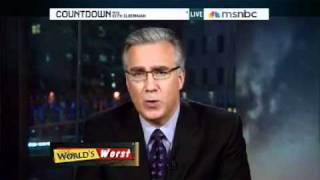 "Countdown - Olbermann Schools ""Ground Zero Mosque"" Opponents"