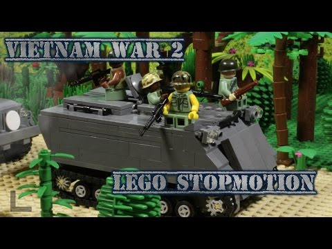 видео: LEGO Vietnam war part 2! / Лего мультфильм Вьетнамская война, 2 часть