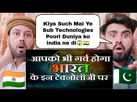 Top Technologies From India To The World | Shocking Reaction By |  Pakistani Real Reactions |