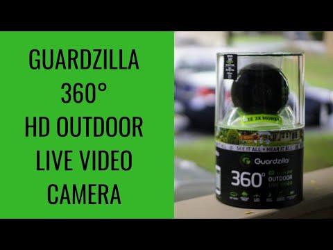 Guardzilla All In One 360 Degree Hd Indoor Outdoor Camera