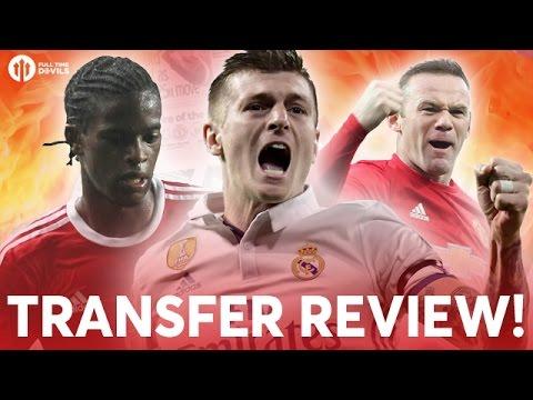 Semedo, Kroos, Rooney! | TRANSFER REVIEW