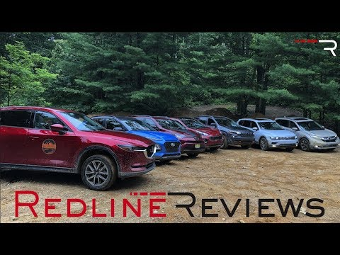 2018 Ultimate Compact SUV Off-Road Comparison – Redline: Review