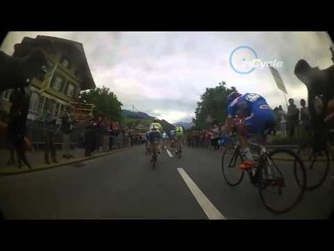 InCycle Video: On board with Belkin on stage 2 of the Tour de Suisse - inside the bunch