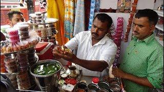 WOW!!! FIRE PAAN!!! Amazing Indian Street Food Mouth Freshener, Natraj Market, Station Road, Mumbai.