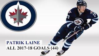 Patrik Laine (#29) All 44 Goals of the 2017-18 NHL Season