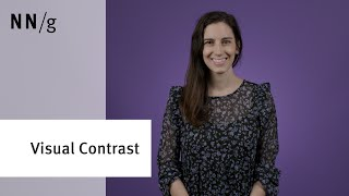 The Visual Principle of Contrast in UI Design