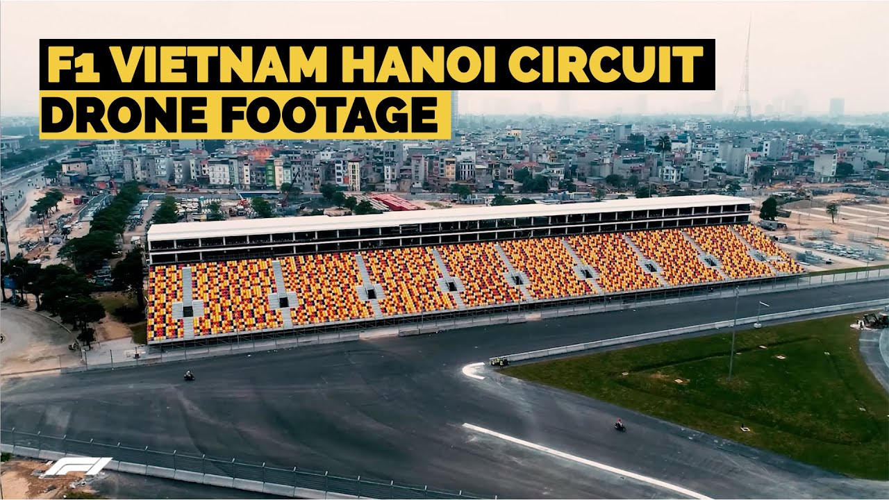 Drone Footage of Vietnam's New F1 Hanoi Circuit | Crash.net