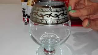 Бокал для коньяка 400мл/6 (Бистро) декор