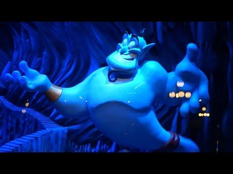"New ""Aladdin"" Enchanted Window on Main Street at Disneyland"