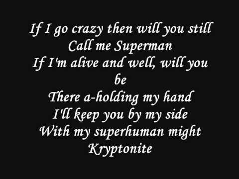 kryptonite by 3 doors down song and lyrics youtube. Black Bedroom Furniture Sets. Home Design Ideas