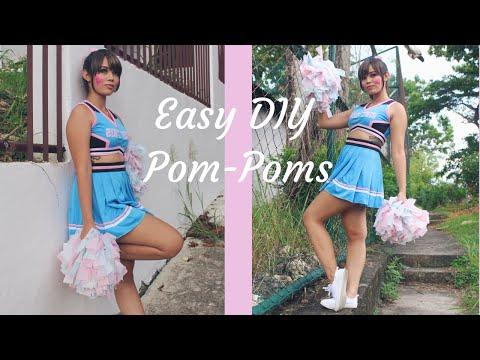 DIY Easy Pom-Poms